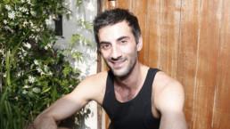Professeur de Pilates, Brice Dulguerian, portrait