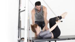 Pilates Paris, cours privés sur machine