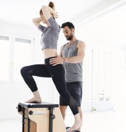 Cours de Pilates à Paris, cours privés sur machine